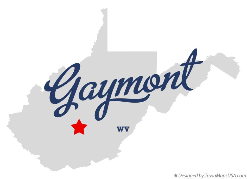 Map of Gaymont West Virginia WV