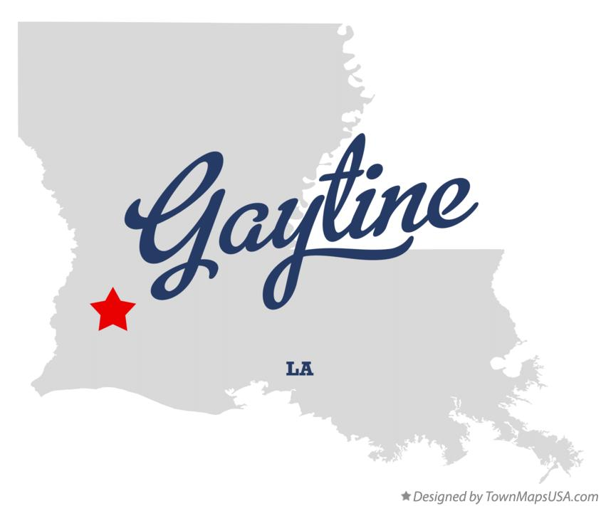 Map of Gaytine Louisiana LA
