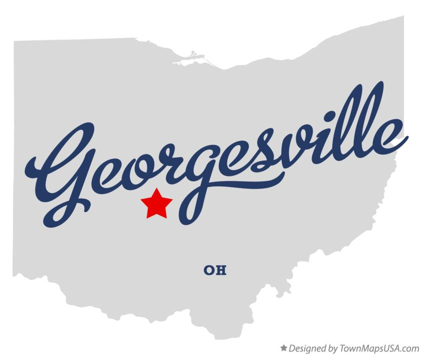 Map of Georgesville Ohio OH