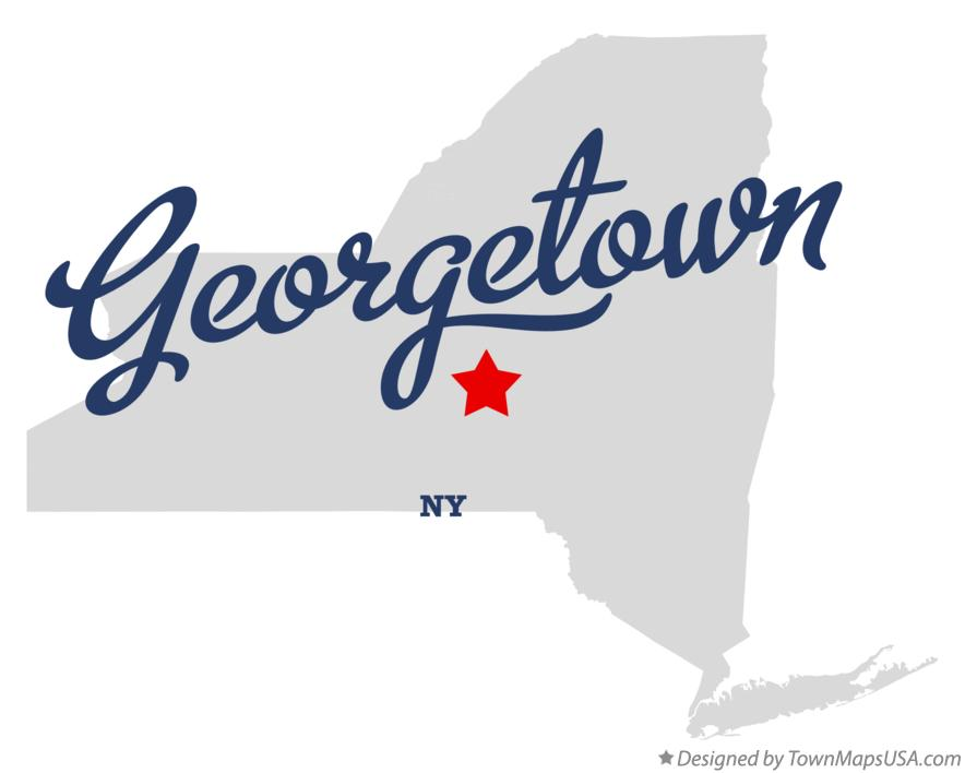 Map of Georgetown New York NY