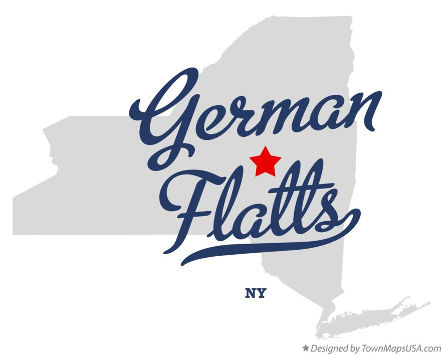 Map of German Flatts New York NY