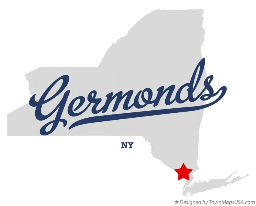 Map of Germonds New York NY