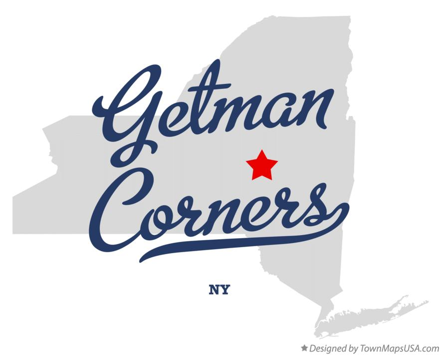 Map of Getman Corners New York NY