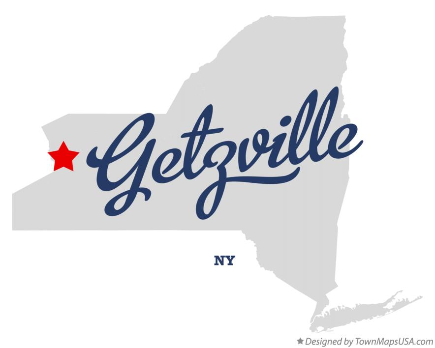 Map of Getzville New York NY