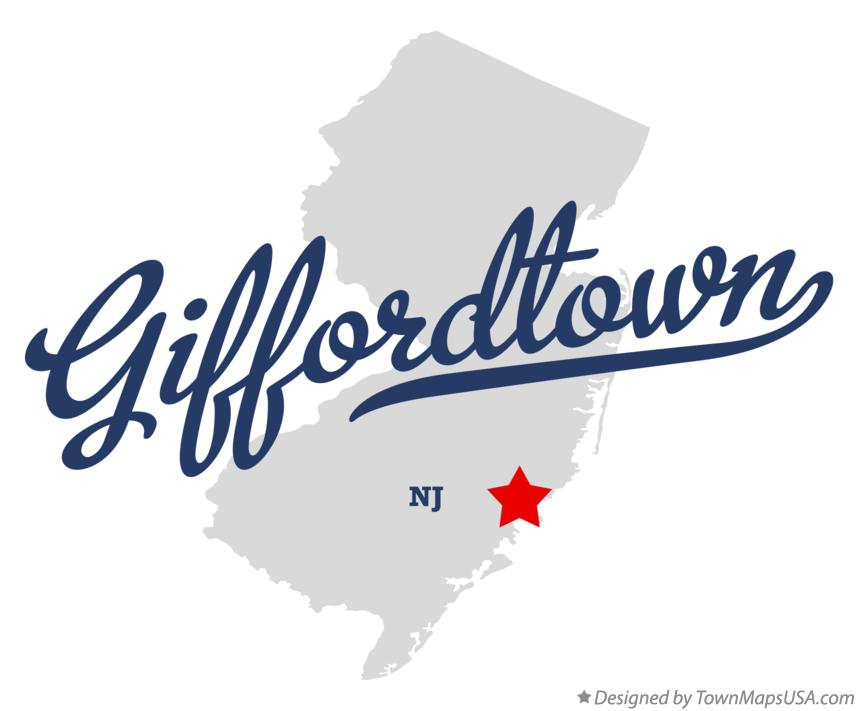 Map of Giffordtown New Jersey NJ