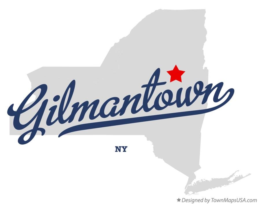 Map of Gilmantown New York NY