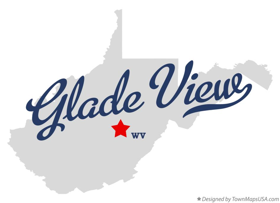 Map of Glade View West Virginia WV