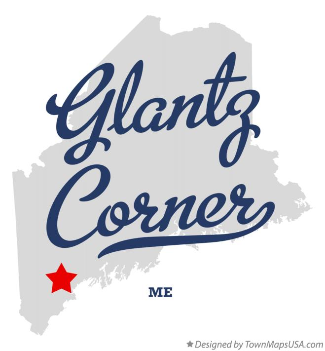 Map of Glantz Corner Maine ME