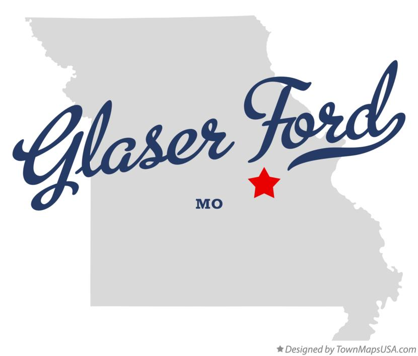 Map of Glaser Ford Missouri MO