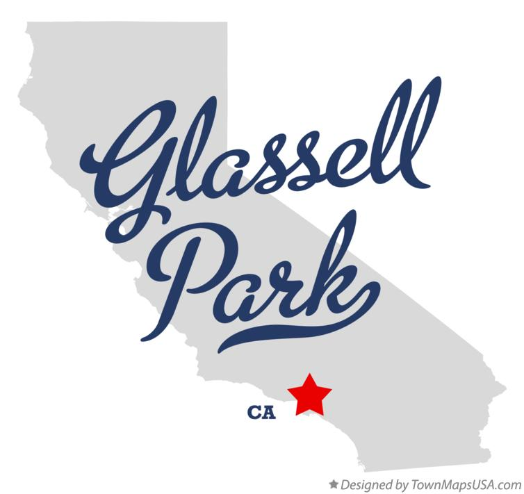 Map of Glassell Park California CA