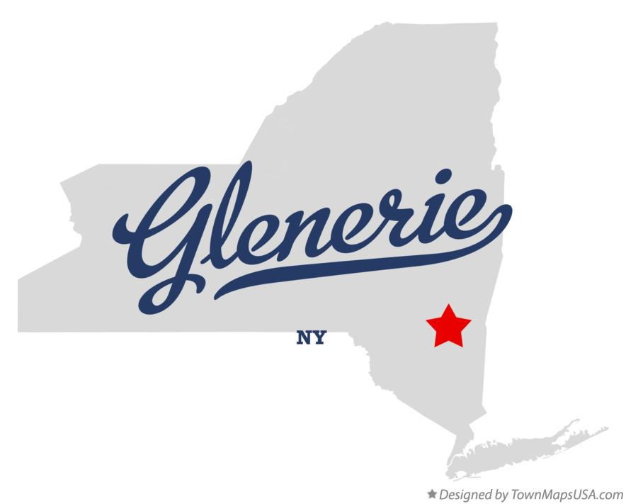 Map of Glenerie New York NY