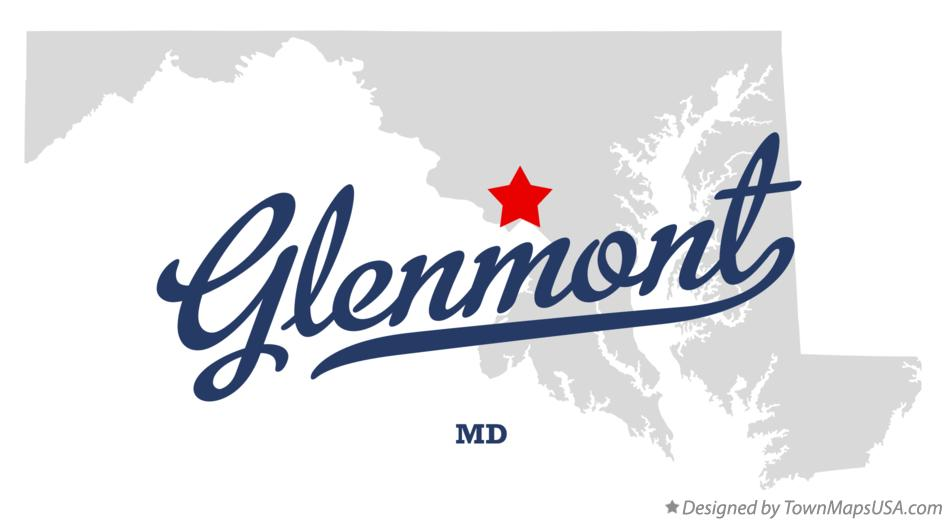 Map of Glenmont Maryland MD