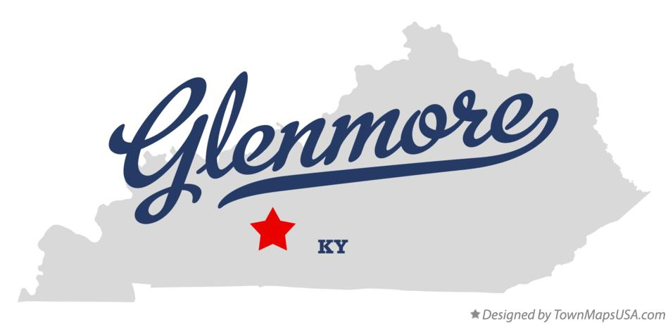 Map of Glenmore Kentucky KY