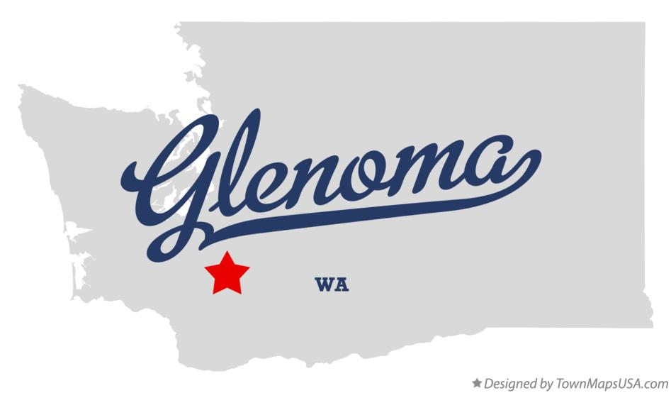 Map of Glenoma Washington WA