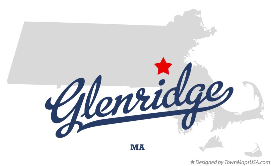 Map of Glenridge Massachusetts MA