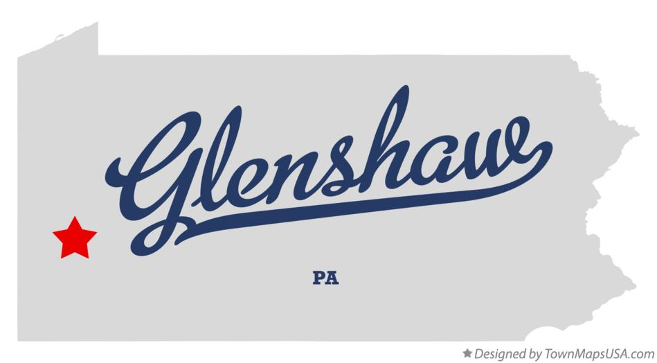 Map of Glenshaw Pennsylvania PA
