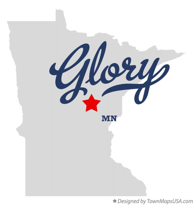 Map of Glory Minnesota MN