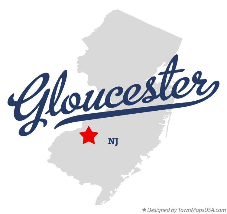 Map of Gloucester New Jersey NJ