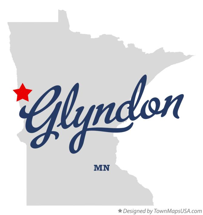 Map of Glyndon Minnesota MN