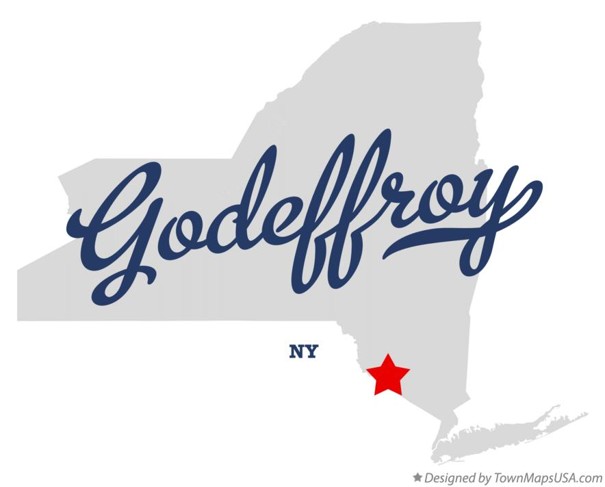 Map of Godeffroy New York NY