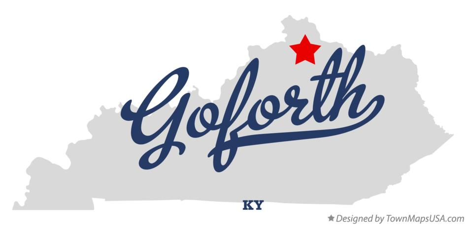 Map of Goforth Kentucky KY