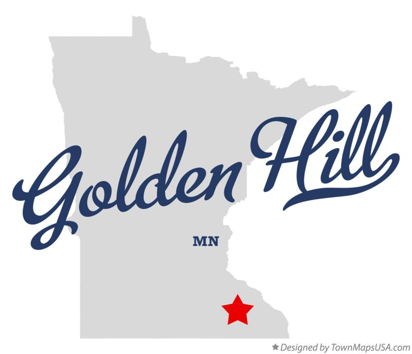 Map of Golden Hill Minnesota MN