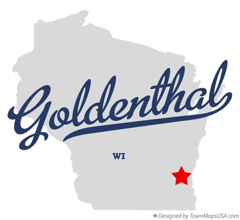 Map of Goldenthal Wisconsin WI