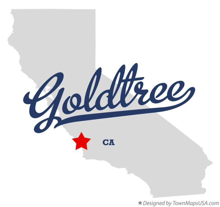 Map of Goldtree California CA