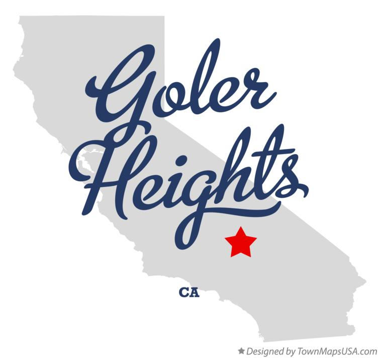 Map of Goler Heights California CA