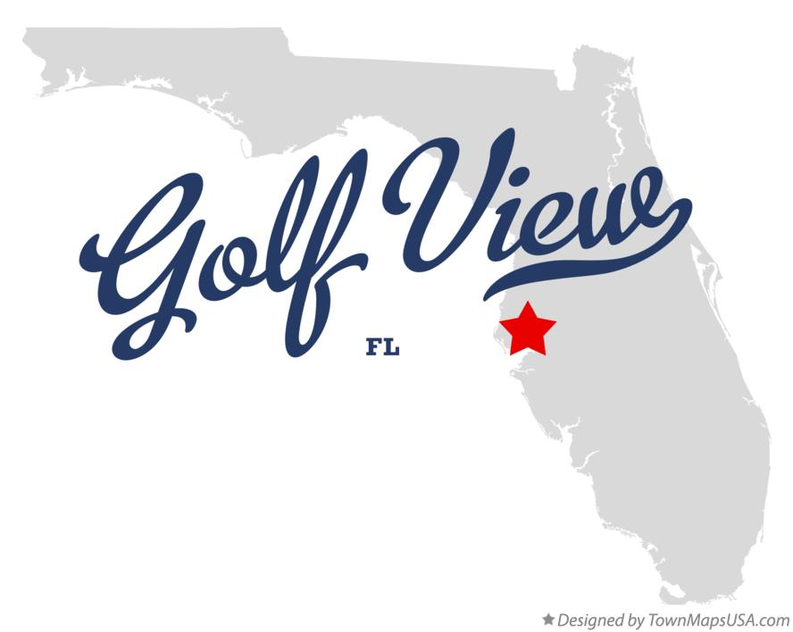 Map of Golf View Florida FL