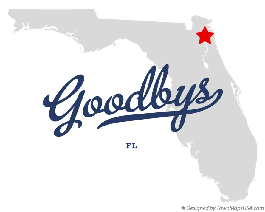 Map of Goodbys Florida FL