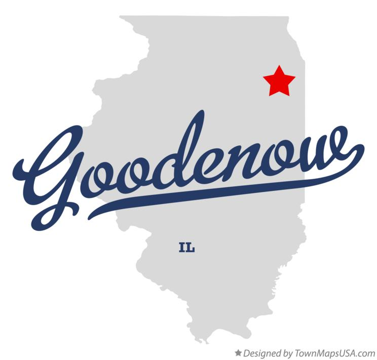 Map of Goodenow Illinois IL