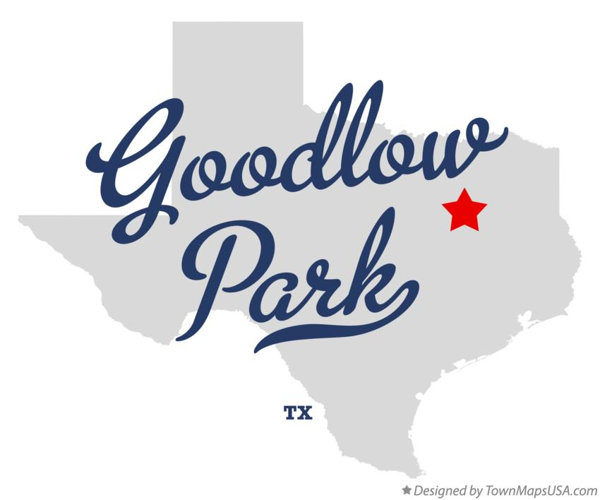 Map of Goodlow Park Texas TX