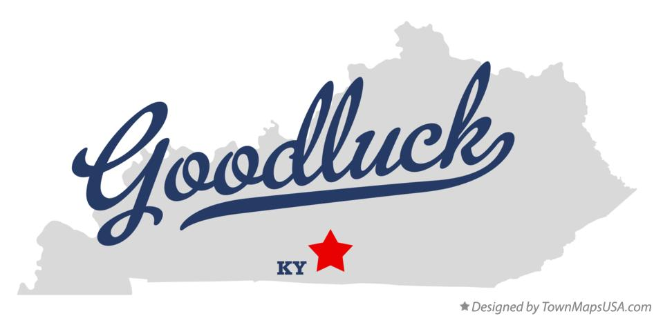 Map of Goodluck Kentucky KY