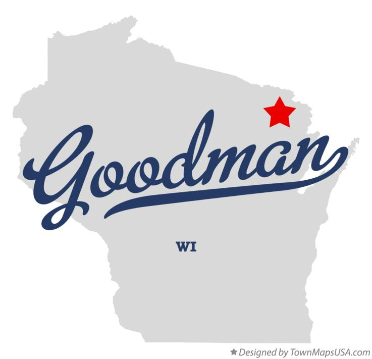 Map of Goodman Wisconsin WI