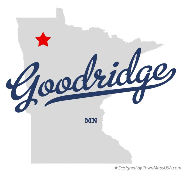 Map of Goodridge Minnesota MN