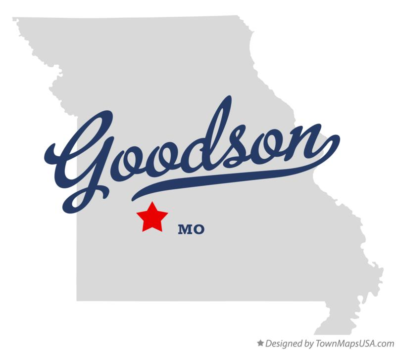 Map of Goodson Missouri MO