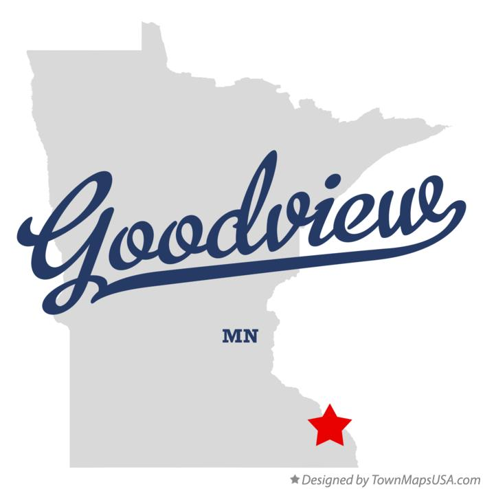 Map of Goodview Minnesota MN