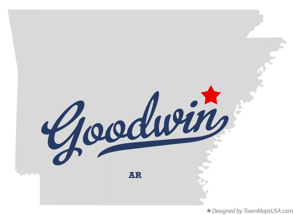 Map of Goodwin Arkansas AR