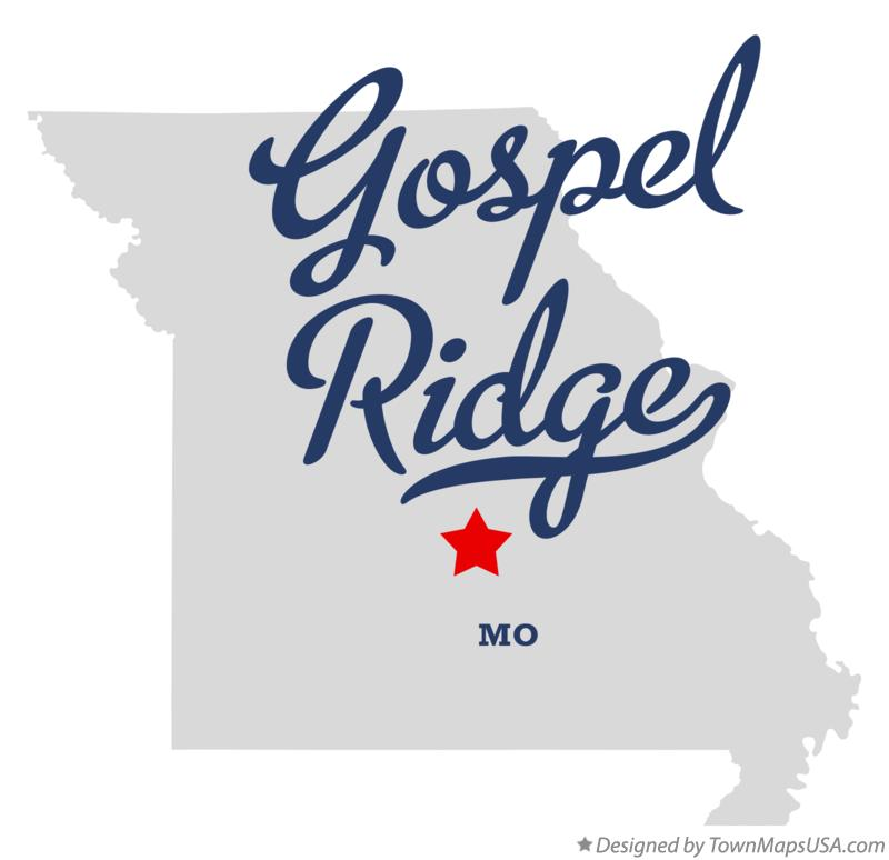 Map of Gospel Ridge Missouri MO
