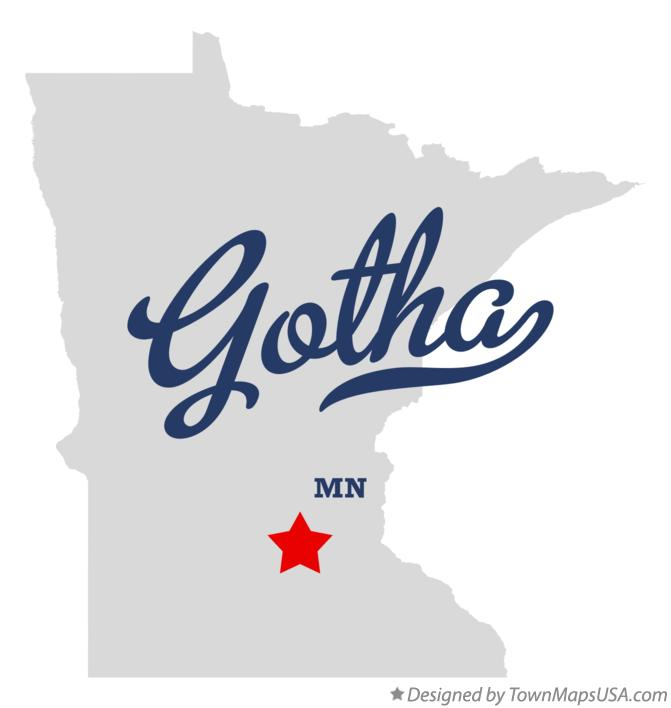 Map of Gotha Minnesota MN
