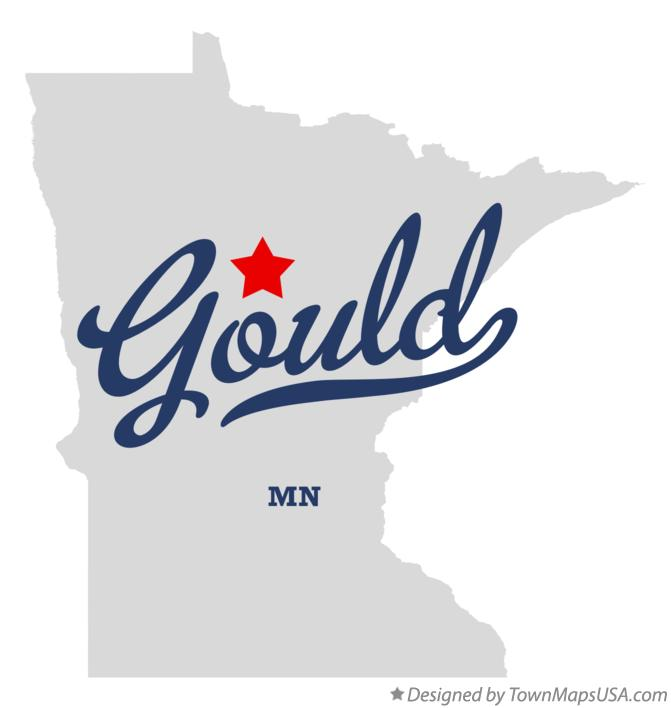 Map of Gould Minnesota MN