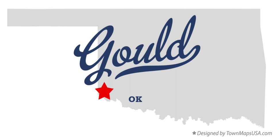Map of Gould Oklahoma OK