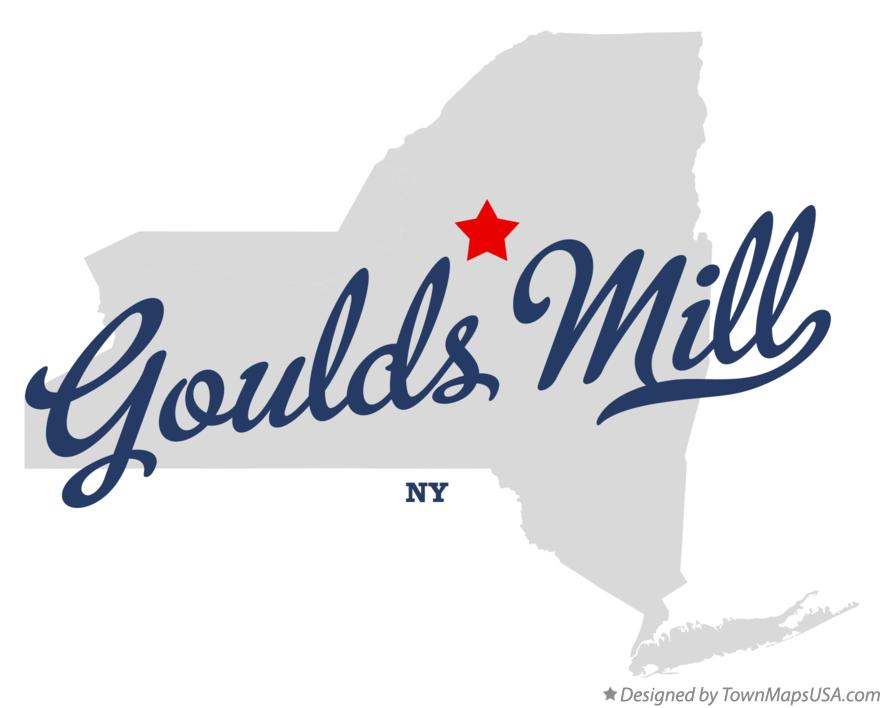 Map of Goulds Mill New York NY