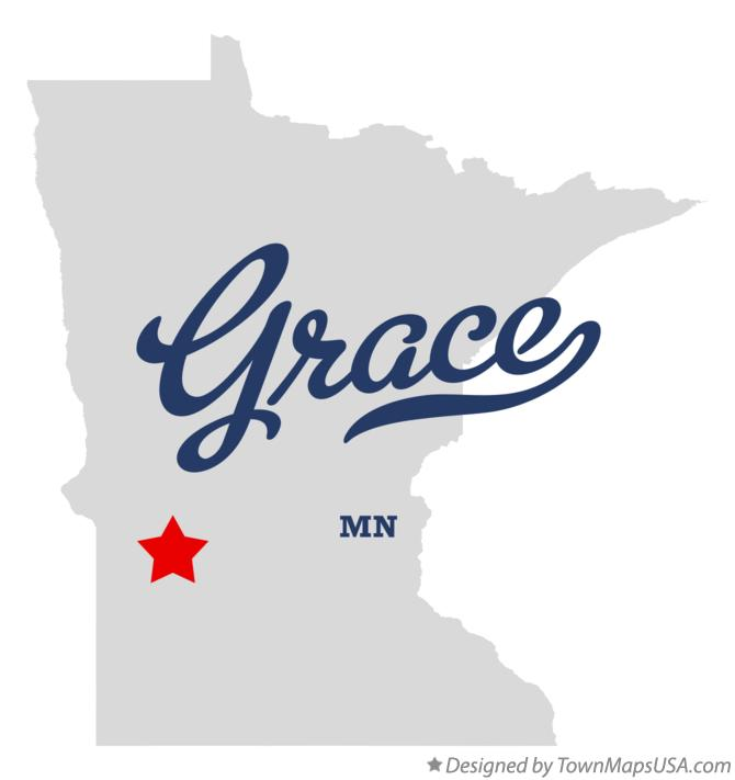 Map of Grace Minnesota MN