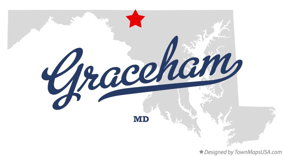 Map of Graceham Maryland MD