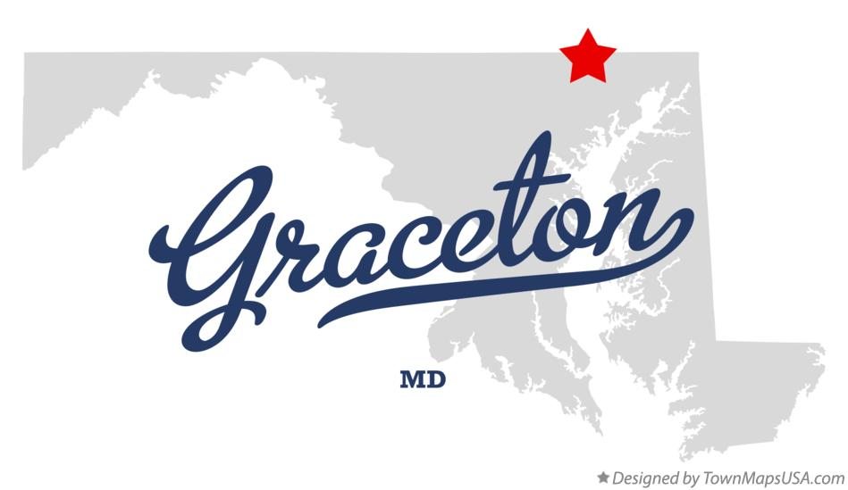 Map of Graceton Maryland MD