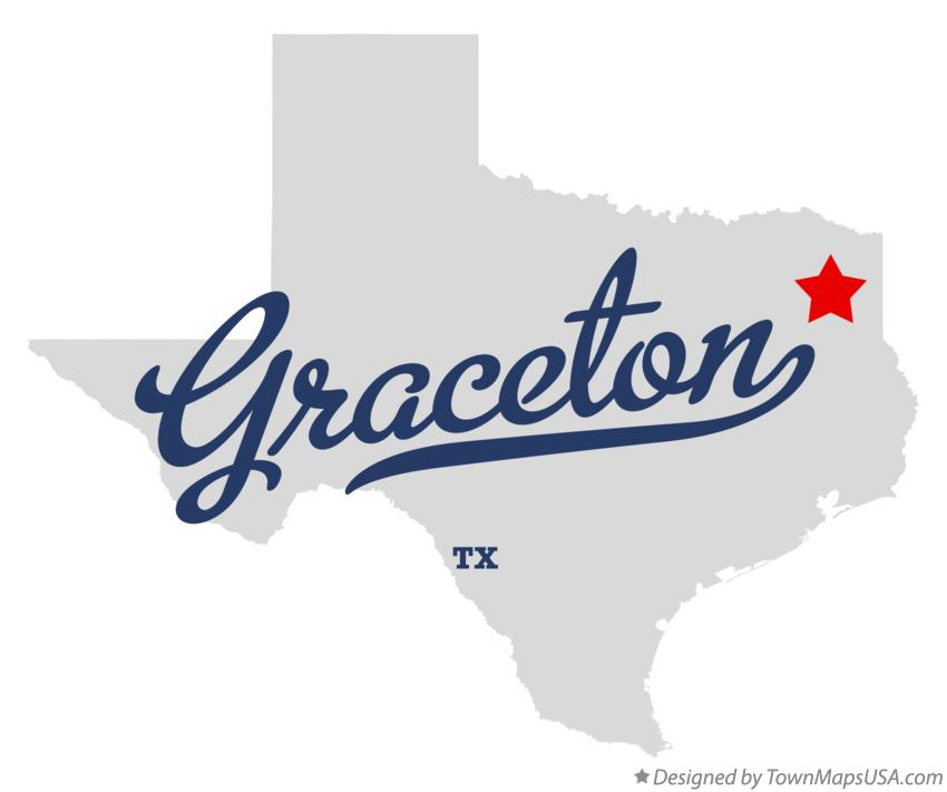 Map of Graceton Texas TX