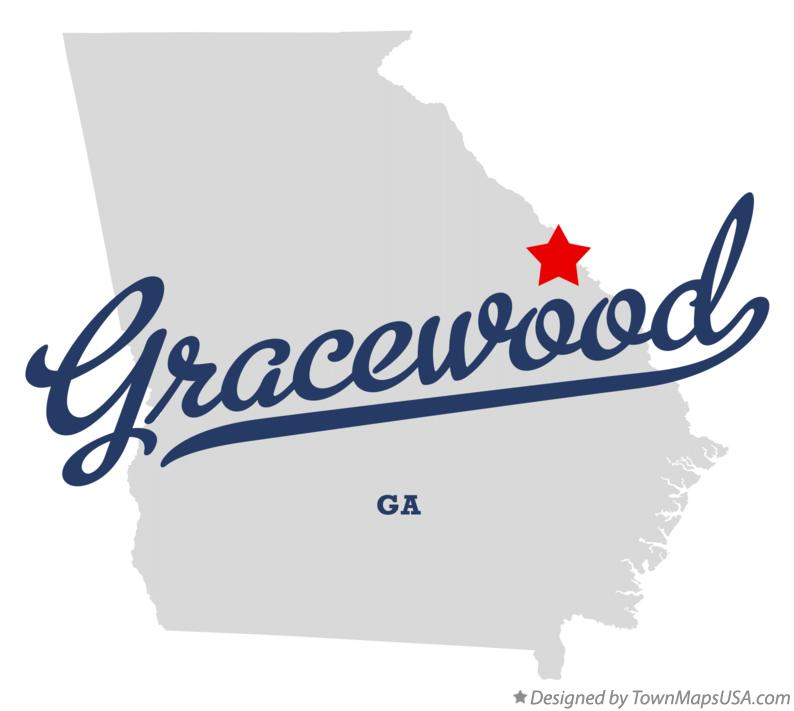 Map of Gracewood Georgia GA