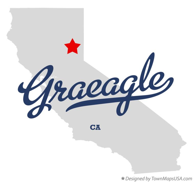 Map of Graeagle California CA